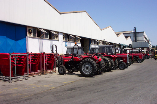 MASSEY FERGUSSON AGRICULTURAL TRACTORS PLANT EXPANSION