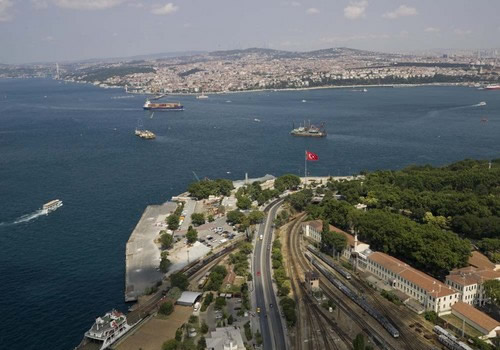 MARMARAY - BOSPHORUS TUBE TUNNEL CROSSING FOR RAILWAY (METRO) INFRASTRUCTURE