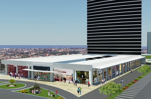 HAZAR PARK SHOPPING MALL, BUSINESS CENTER, HOUSING AND HOTEL COMPLEX