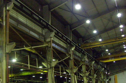 AREVA T&D PLANT STRUCTUREL STEEL  STRENGTHENING DESIGNS AND CONSTRUCTION